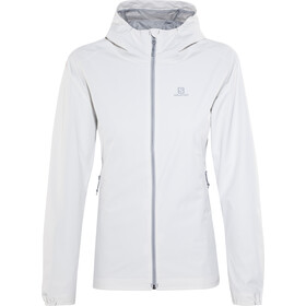 Salomon Essential Jacket Women Vaporous Gray